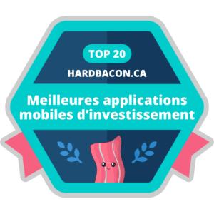 meilleure App Mobile pour budget et finance au Canada hardbacon