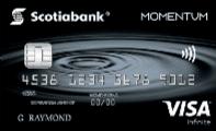 Carte de crédit visa infinite momentum