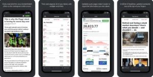 App Mobile pour budget et finance au Canada Market Watch