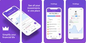 App Mobile pour budget et finance au Canada Wealthica