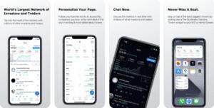 App Mobile pour budget et finance au Canada stock