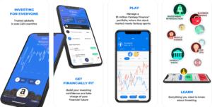 App Mobile pour budget et finance au Canada investr
