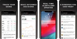 App Mobile pour budget et finance au Canada seeking alpha